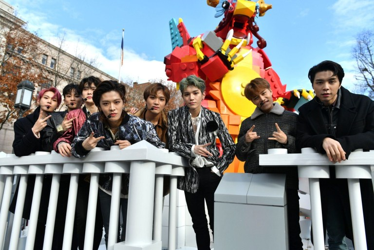Mandatory Credit: Photo by Erik Pendzich/REX (10487125ai) NCT 127 93rd Annual Macy's Thanksgiving Day Parade, New York, USA - 28 Nov 2019