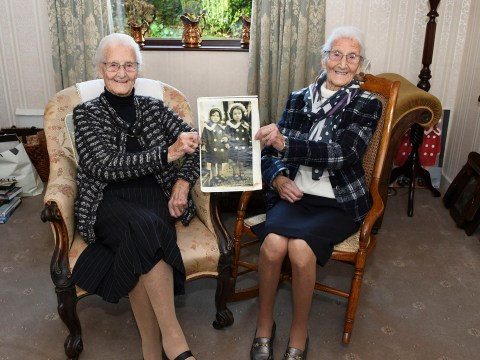 UK's oldest identical twins talk on the phone every day and married men with the same name