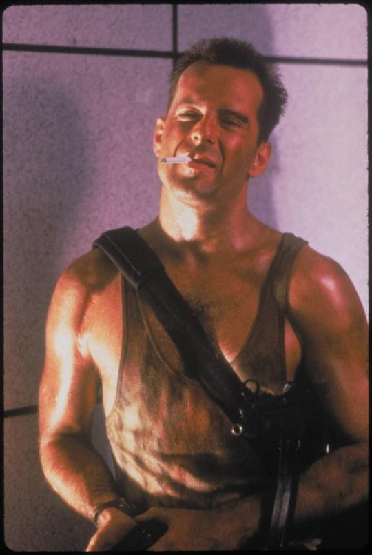 Die Hard Featuring Bruce Willis as John McClane ?? Twentieth Century Fox