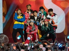 BTS are working hard on their new music right now
