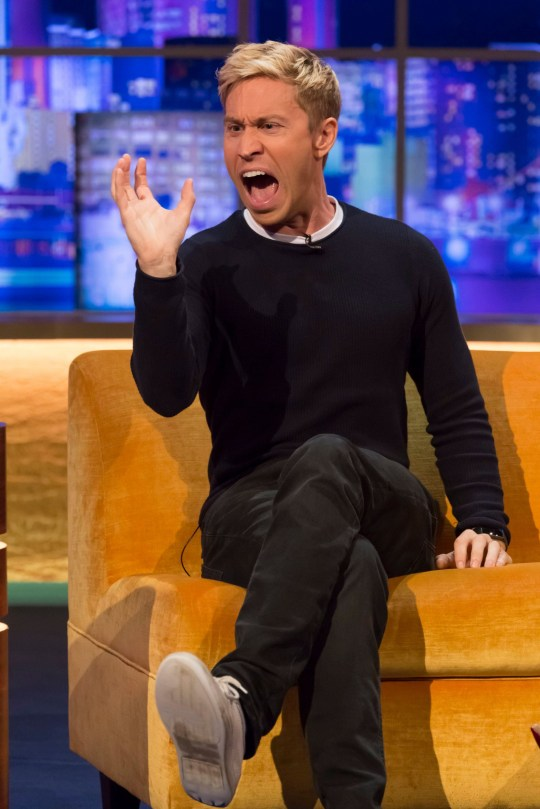 Russell Howard sur le Jonathan Ross Show