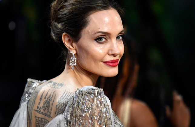 epaselect epa07908452 US actress/cast member Angelina Jolie attends the UK premiere of 'Maleficent: Mistress of Evil' in London, Britain, 09 October 2019. The film will be released in the UK on 18 October. EPA/NEIL HALL