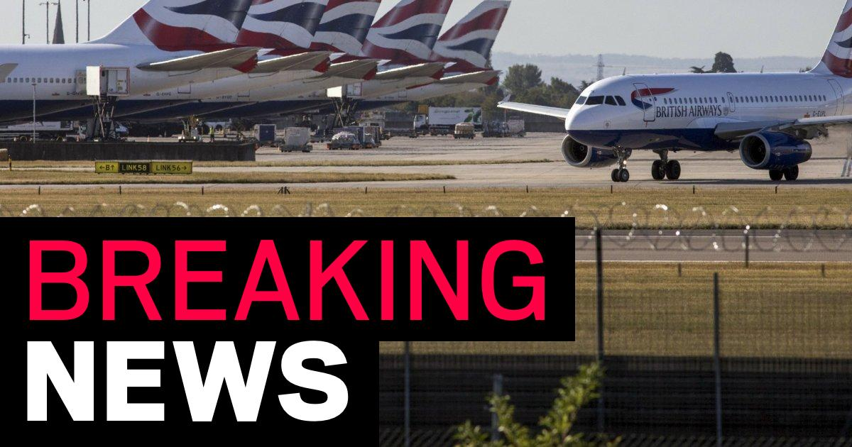 Man arrested at Heathrow Airport on suspicion of 'Syria-related' terror offences