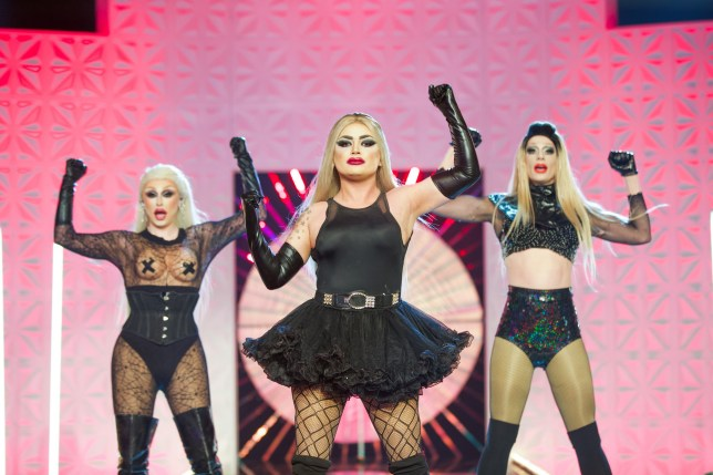 The Frock Destroyers in RuPaul's Drag Race UK