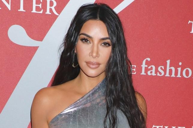 Mandatory Credit: Photo by Gregory Pace/REX (10456041u) Kim Kardashian West Fashion Group International's Night of Stars Gala, Arrivals, Cipriani Wall Street, New York, USA - 24 Oct 2019