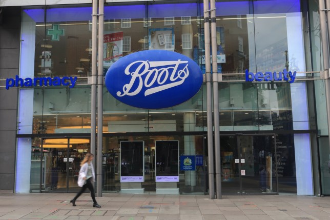 Boots Store seen at Oxford Street