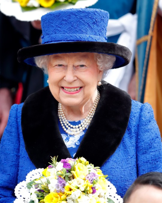WINDSOR, UNITED KINGDOM - MARCH 29: (EMBARGOED FOR PUBLICATION IN UK NEWSPAPERS UNTIL 24 HOURS AFTER CREATE DATE AND TIME) Queen Elizabeth II attends the Royal Maundy Service at St George's Chapel on March 29, 2018 in Windsor, England. During the service The Queen distributed Maundy money to 92 men and 92 women one for each of her 92 years. (Photo by Max Mumby/Indigo/Getty Images)
