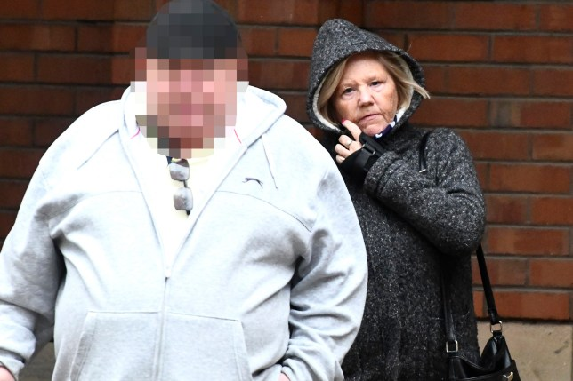 """A benefits cheat fraudulently claimed thousands of pounds while living in Spain - because her health problems were """"alleviated by warm weather"""". Kathleen Jones, 63, lied in interview even after she was caught and presented with flight information obtained by the Department for Work and Pensions (DWP), Hull Crown Court heard. Caption: Kathleen Jones leaving Hull Crown Court"""