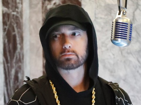 What did Eminem say about the Manchester bombing as his lyrics are met with criticism?