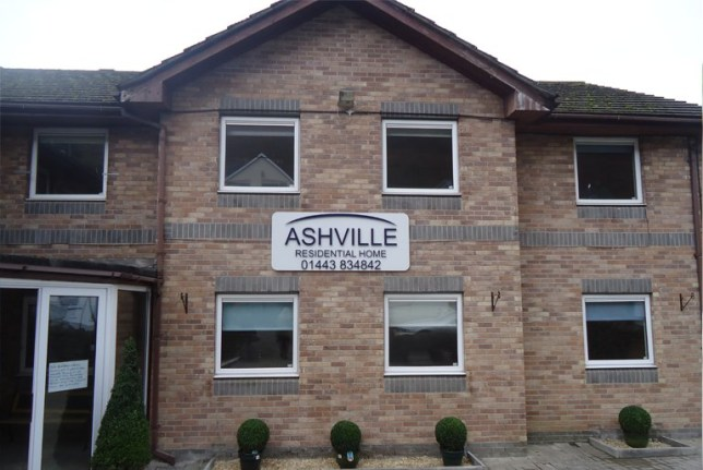 Care home slaves Ashville Residential Care Home on School Street in Brithdir http://www.ashvillecare.co.uk/#gallery-row Picture: Ashville Residential Care Home