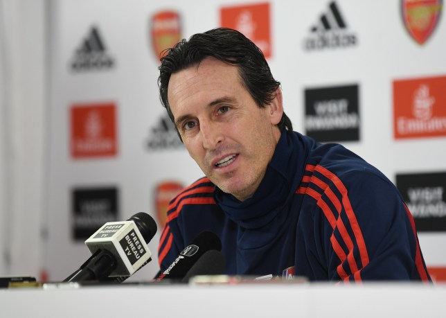 Unai Emery believes mitigating factors have hampered Arsenal this season