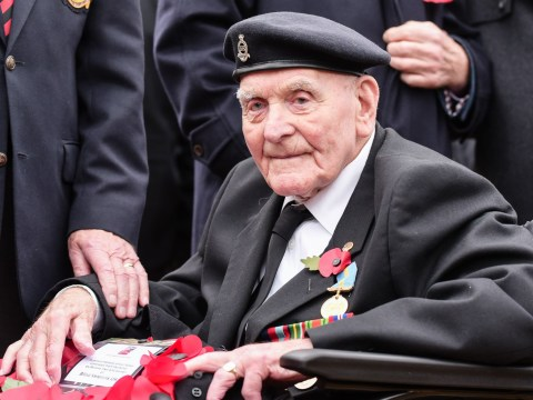 Blind veteran, 104, will be oldest to march on Remembrance Sunday