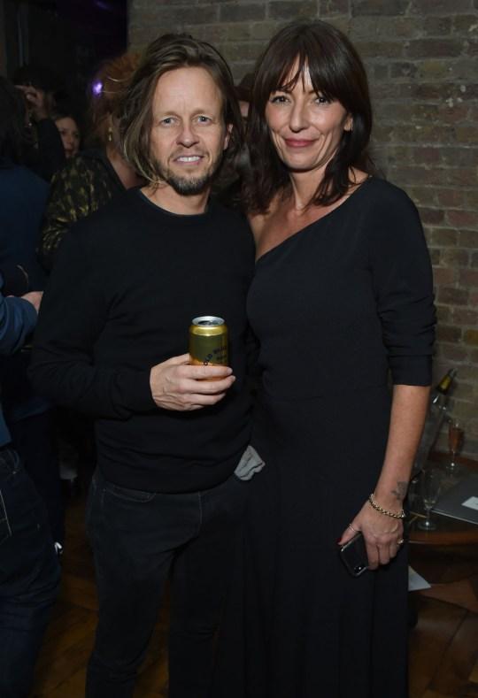 Celebrity stylist Michael Douglas and Davina McCall