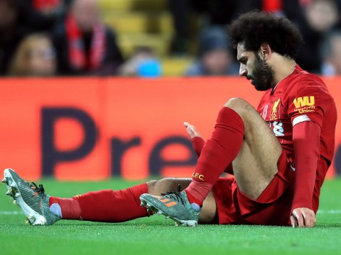 No return date for Liverpool forward Mohamed Salah as ankle issues continue