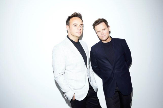 Ant and Dec who are back hosting I'm A Celebrity