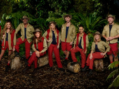 Who are the partners of the I'm a Celebrity 2019 contestants?