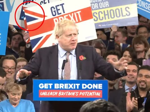 Can you spot the 'distress signal' in Boris Johnson's election posters?