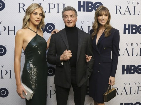 Sistine Stallone joins dad Sylvester Stallone at screening as she follows in his successful footsteps