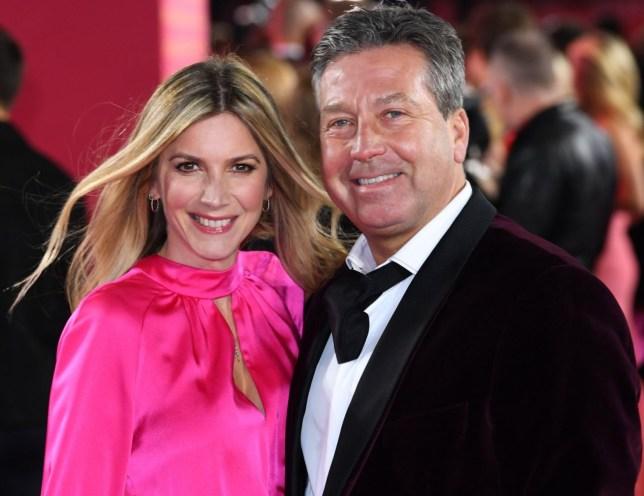MasterChef's John Torode and Lisa Faulkner loved-up on first red carpet appearance since lavish wedding