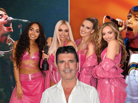 Simon Cowell compares Little Mix rivalry to Blur versus Oasis as The X Factor clash continues