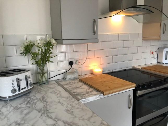 ?80 kitchen transformation (Picture: Gemma)