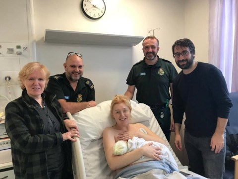 Woman has baby at 90mph on M6 after loose dog and floods derail birth plan