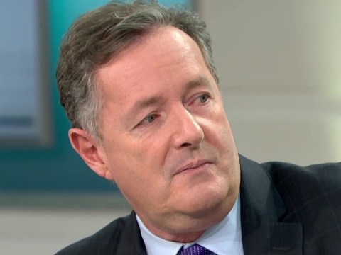Piers Morgan claims black people calling him a 'fat, white gammon' is racist