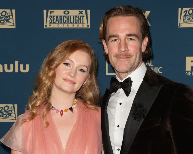 James Van Der Beek and his wife Kimberly Brook