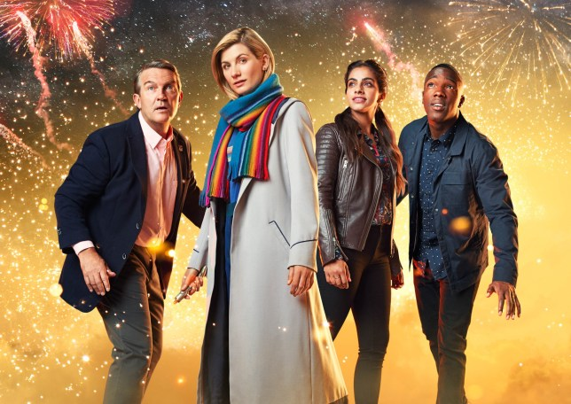 The cast of Doctor Who
