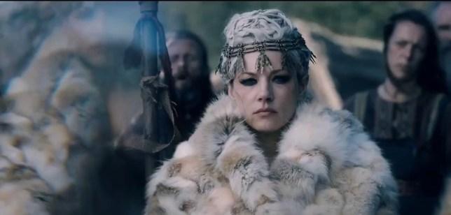 Lagertha in a teaser for season 6 of vikings