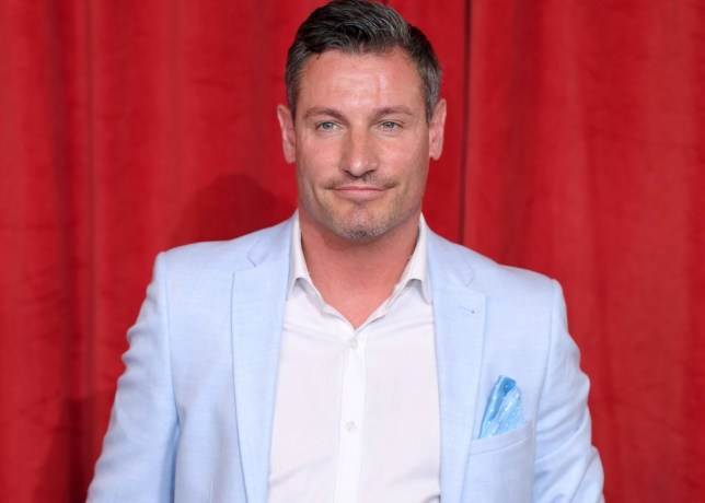 MANCHESTER, ENGLAND - JUNE 01: Dean Gaffney attends the British Soap Awards at The Lowry Theatre on June 01, 2019 in Manchester, England. (Photo by Karwai Tang/WireImage)