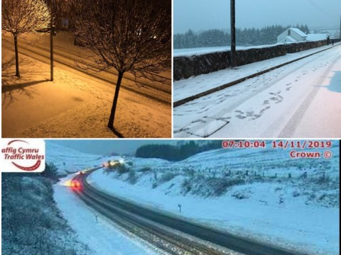 Britain hit by snow, rain and ice as SIX severe weather warnings are put in place