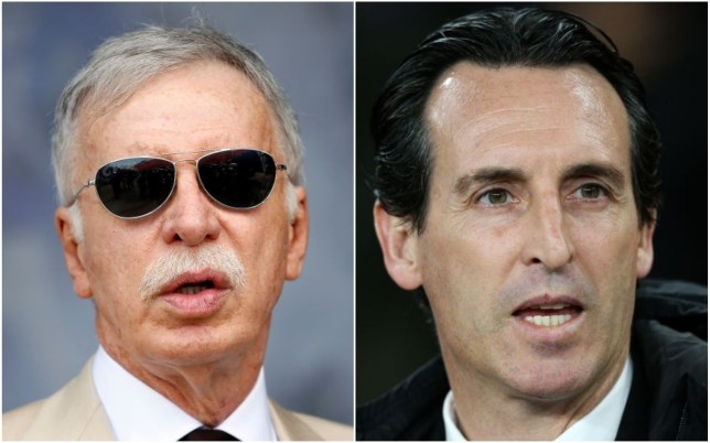 Arsenal owner Stan Kroenke had held off sacking Unai Emery