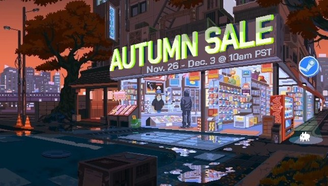 Steam Autumn Sale banner (pic: Valve)