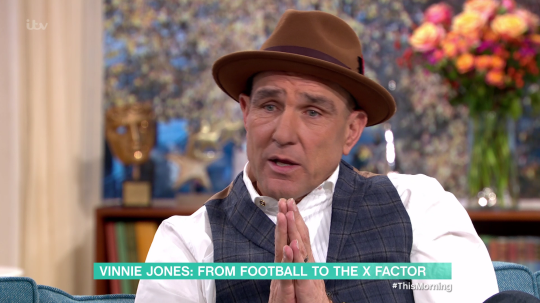 Vinnie Jones This Morning