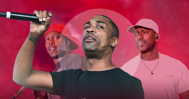 Wiley, Skepta and Dizzee Rascal