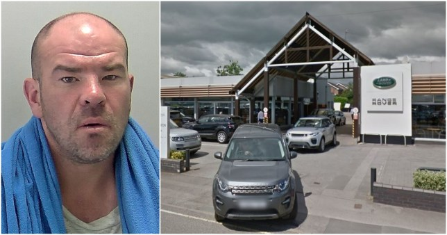Range Rovers damaged in £50,000 rage by man drunk on mouthwash