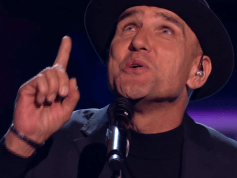 Vinnie Jones pays touching tribute to late wife Tanya during live The X Factor: Celebrity performance