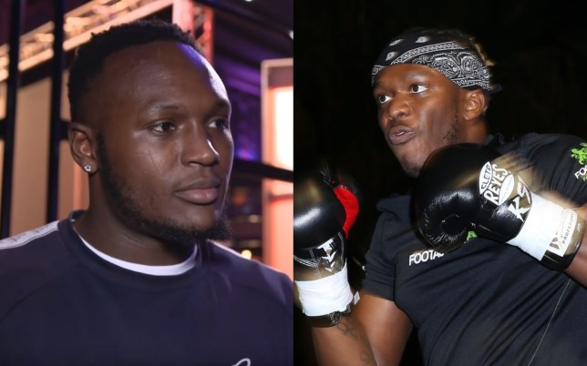 Viddal Riley says he's given KSI a tough time in sparring