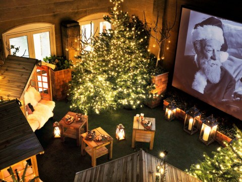 The Berkeley's super snug rooftop cinema is coming back for Christmas