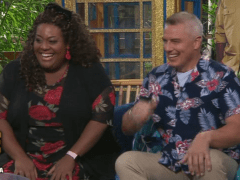 I'm A Celebrity's John Barrowman throws shade at Adele Roberts over 'Jane Gate'