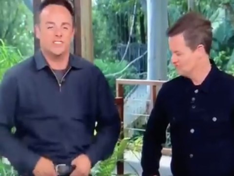 I'm A Celebrity's Ant McPartlin adjusts his 'care package' and we're all distracted