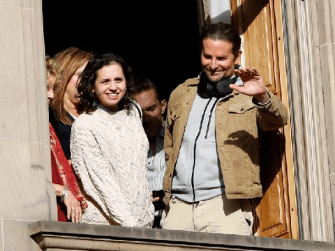 Bradley Cooper watches Macy's Thanksgiving Parade with friends after Irina Shayk split