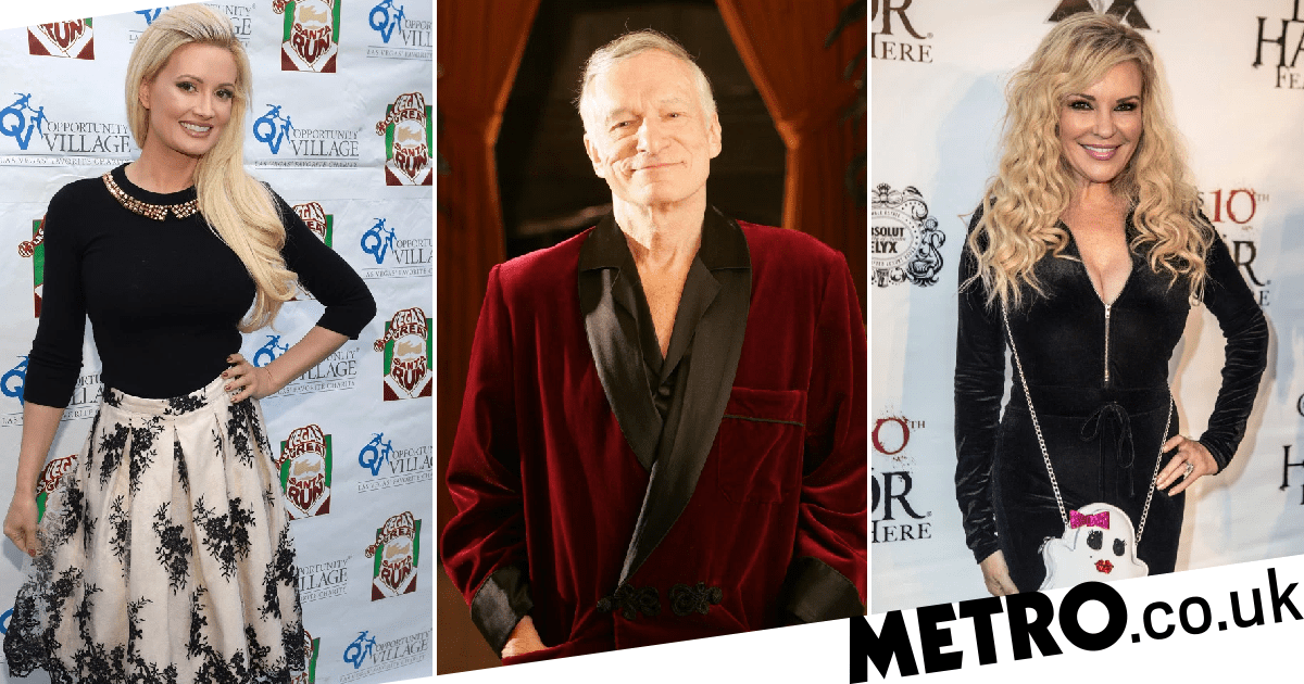 Hugh Hefner's Playboy exes claim they spoke to him during seance as it's revealed he 'haunts' mansion