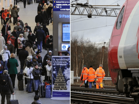 Christmas travel chaos ahead with 10 days of rail works planned across UK