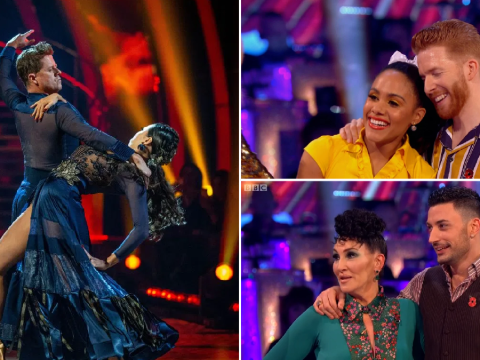 Who left Strictly Come Dancing in the seventh elimination of the series?