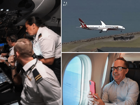 Non-stop flight from London to Sydney lands after 19 hours