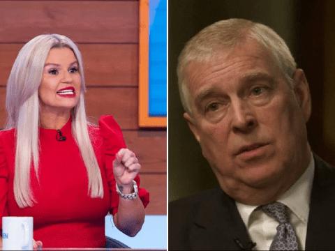 Kerry Katona jokes she's no longer 'car crash of the century' following explosive Prince Andrew interview
