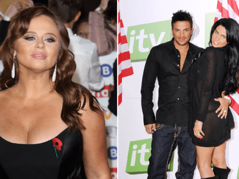 I'm A Celeb's Emily Atack makes dig at Katie Price and Peter Andre's former relationship