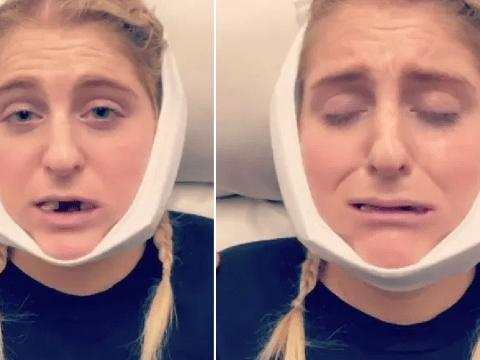 Meghan Trainor breaking down after getting wisdom teeth pulled is the best thing you'll see today